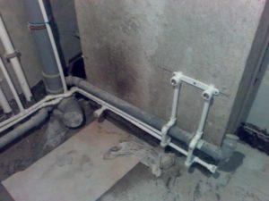 Замена металлических труб в квартире