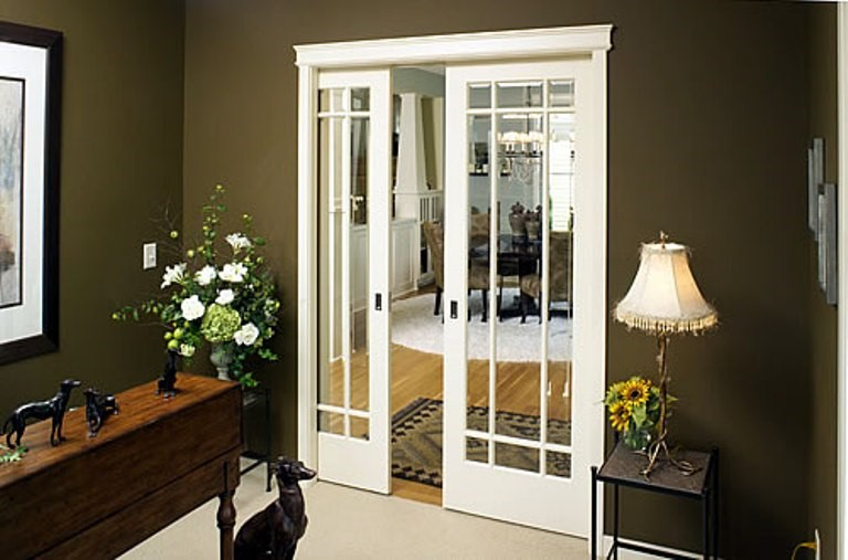 Single glass pocket doors for modern pocket doors door acces.