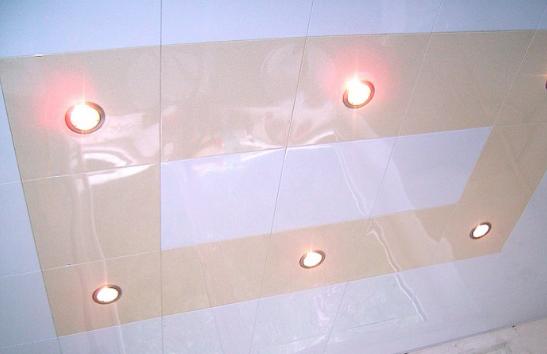Кассетный потолок закрытого типа