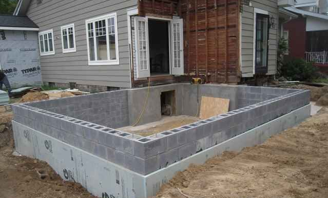 Фундамент для домов из пеноблоков своими руками 164