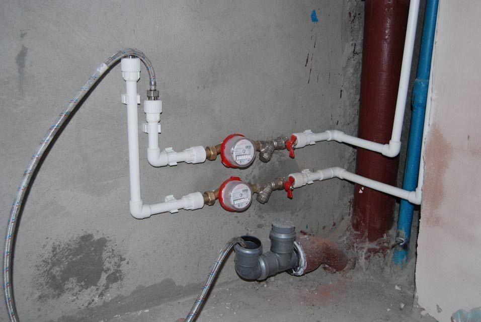 Как установить счетчик воды в квартире своими руками 86
