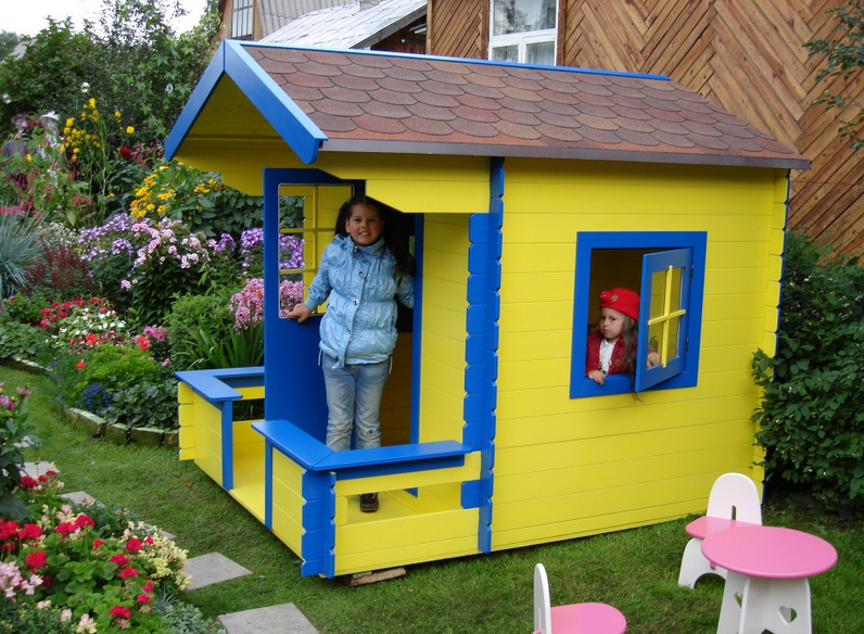 Детский домик своими руками для детского сада 725