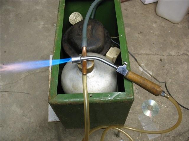 Бензиновой горелки для пайки своими руками