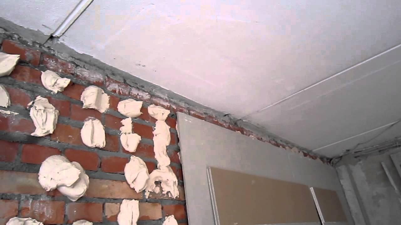 Стены из гипсокартона своими руками без каркаса