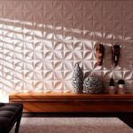 Использование 3D панелей в дизайне комнат
