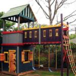 Как построить домик для детей